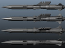 'Anti-Vajra' Missile x6 - YAMATO in White Strong & Flexible Polished