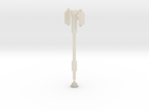 idw: Prime Axe Pole for deluxe in White Acrylic