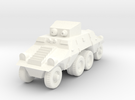 1/100 Austrian ADGZ Armored Car in White Strong & Flexible Polished