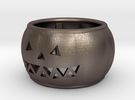 Pumpkin Ring 19mm in Stainless Steel