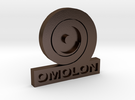 Omolon Foundry Personal Emblem in Polished Bronze Steel
