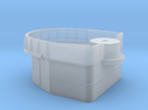 Fletcher-class Mare Island D-shaped Gun Tub Ver. 1 in Frosted Extreme Detail
