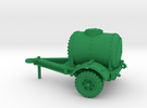 1/56 scale water trailer - downloadable in Green Strong & Flexible Polished
