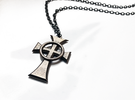 "Boondock Saints - Celtic Cross pendant - 1-1/2"" in Stainless Steel"