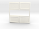 Paneled Wall 003 Passthrough in White Strong & Flexible Polished