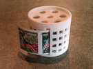 *stamp roll dispenser The Postmaster in White Strong & Flexible