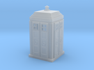 Tardis 02 HO Scale Detail Prints in Frosted Ultra Detail