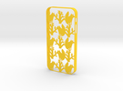 Fox iPhone5/5S case in Yellow Strong & Flexible Polished