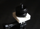 GoPro to Hotshoe to Tripod Mount in White Strong & Flexible