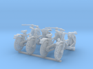 28mm scale Bicycle model 1 (4 pieces) in Frosted Ultra Detail