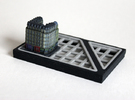 Paris Apartment Block A (2x2, 1x2) in Full Color Sandstone