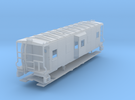 Sou Ry. bay window caboose - mod. Hayne - TT scale in Frosted Ultra Detail