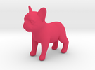 French Bulldog :D in Pink Strong & Flexible Polished