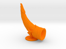 Player Horn in Orange Strong & Flexible Polished