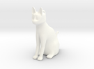 CatCharm in White Strong & Flexible Polished