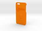 Iphone 6/6s Splatoon in Orange Strong & Flexible Polished