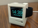 Apple Watch Dock - Mac SE in White Strong & Flexible Polished