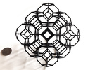 Truncated octahedral lattice in Black Strong & Flexible