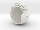 FOOTBALLHELMET in White Strong & Flexible