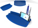 Desk organiser in White Strong & Flexible