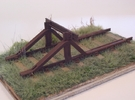 GWR Buffer Stop in White Strong & Flexible