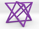 xCube Large in Purple Strong & Flexible Polished