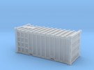 20 Waste Container Edinburgh White (N gauge 1:148) in Frosted Ultra Detail