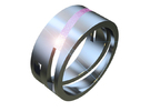 geometric ring 01 16,6-12-6 in Premium Silver