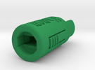 Piston Tool 2012 in Green Strong & Flexible Polished
