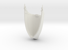 Spire Large Top Shell (Spire Whale) in White Strong & Flexible