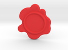 Wax Seal - Customizable Paper Weight! in Red Strong & Flexible Polished