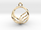 Pendant in 14k Gold Plated