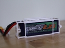 Turnigy Nanotech 2250 Battery Cage in White Strong & Flexible