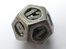 Thoroughly Modern Die12 in Stainless Steel