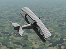 1/144 Nieuport 16 (Synchronized) in White Strong & Flexible