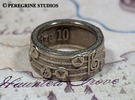 Ring - Song of Storms (Size 13) in Stainless Steel