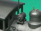 HO scale Turbo Generator for steam locos x12 in Frosted Ultra Detail