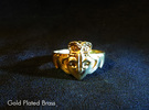NOLA Claddagh, Ring Size 9 in White Strong & Flexible