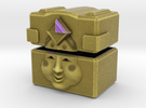 Gold Mask Box in Full Color Sandstone