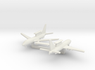 1/700 Boeing 737 AEW&C (E-7A) with Landing Gear in White Strong & Flexible