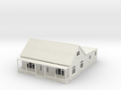 1:120 Cottage With veranda in White Strong & Flexible