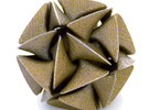Dodecahedron II, medium in White Strong & Flexible