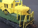 Reading N Scale SD45 Cab And Hood in Frosted Ultra Detail