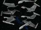 Tiberian Wintercrow C Class in White Strong & Flexible