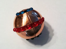 Copper Orb - BODY ONLY (looser version) in White Strong & Flexible