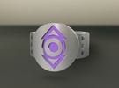 Indigo Tribe FF Ring Sz 10 in Black Strong & Flexible
