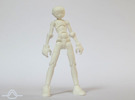 Erstaz MKII action figure Angel Body in White Strong & Flexible Polished