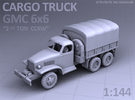 CARGO TRUCK - GMC CCKW 6x6 in Frosted Ultra Detail