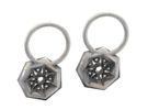Frosted Ultra Detail Star Earrings in Frosted Ultra Detail