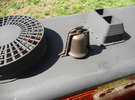 "1"" Scale Air Powered Diesel Bell in Matte Bronze Steel"